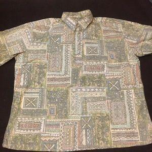 Tori Richard Mens Aloha Shirt XL
